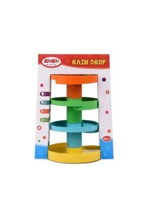 Zuzu Toys Yağmur Damlası Çıngıraklı Top Oyunu 2