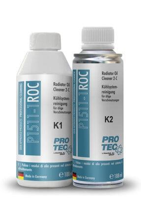 PROTEC Radyatör Içi Yağ Temizleyici (k1+k2) 376ml | Oto Radyatör Temizleyici 0