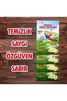 Harika Çocuk Yayınları 4 - 7 Yaş Boyamalı Değerler Eğitimi Hikaye Seti 4 Kitap 0