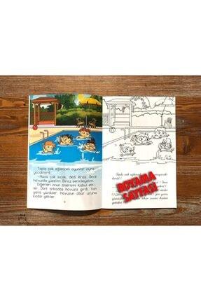Harika Çocuk Yayınları 4 - 7 Yaş Boyamalı Değerler Eğitimi Hikaye Seti 4 Kitap 4