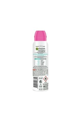 Garnier Mineral Lekesiz Koruma Ferah Koku Sprey Deodorant 150 Ml 2