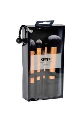 Keops Makyaj Fırça Seti 4'lü -52 1