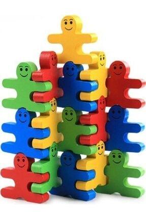Wooden Toys Ahşap Denge Blokları Dikkat Oyunu 0