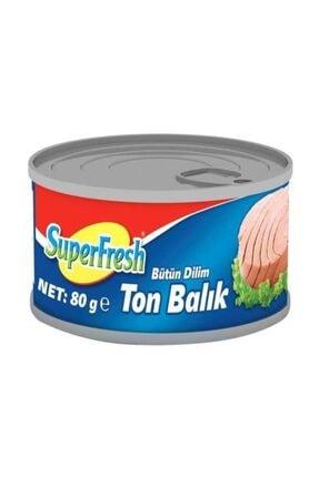 SuperFresh Bütün Dilim Ton Balığı 80 Gr X 24 Adet Skt: 08/2023 1
