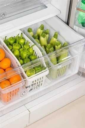 Kitchen Love 3 Adet Buzdolabı Düzenleyici 0