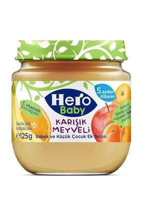 Hero Baby Karışık Meyveli Kavanoz Maması 125 gr 0