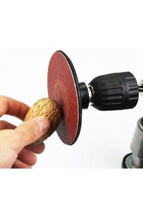 Pratik 7 Parça Cırt Zımpara Spiral Avuç Taşlama Matkap Cırt Taban Pimli 2