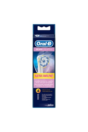 Oral-B Diş Fırçası Yedek Başlığı Sensitive Ultra Thin 4 Ade 1
