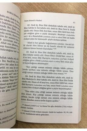 Neda Yayınları El-irca (kitabul Iman), Ahmed B. Hanbel, 14x21 Cm. Neda Yay 2