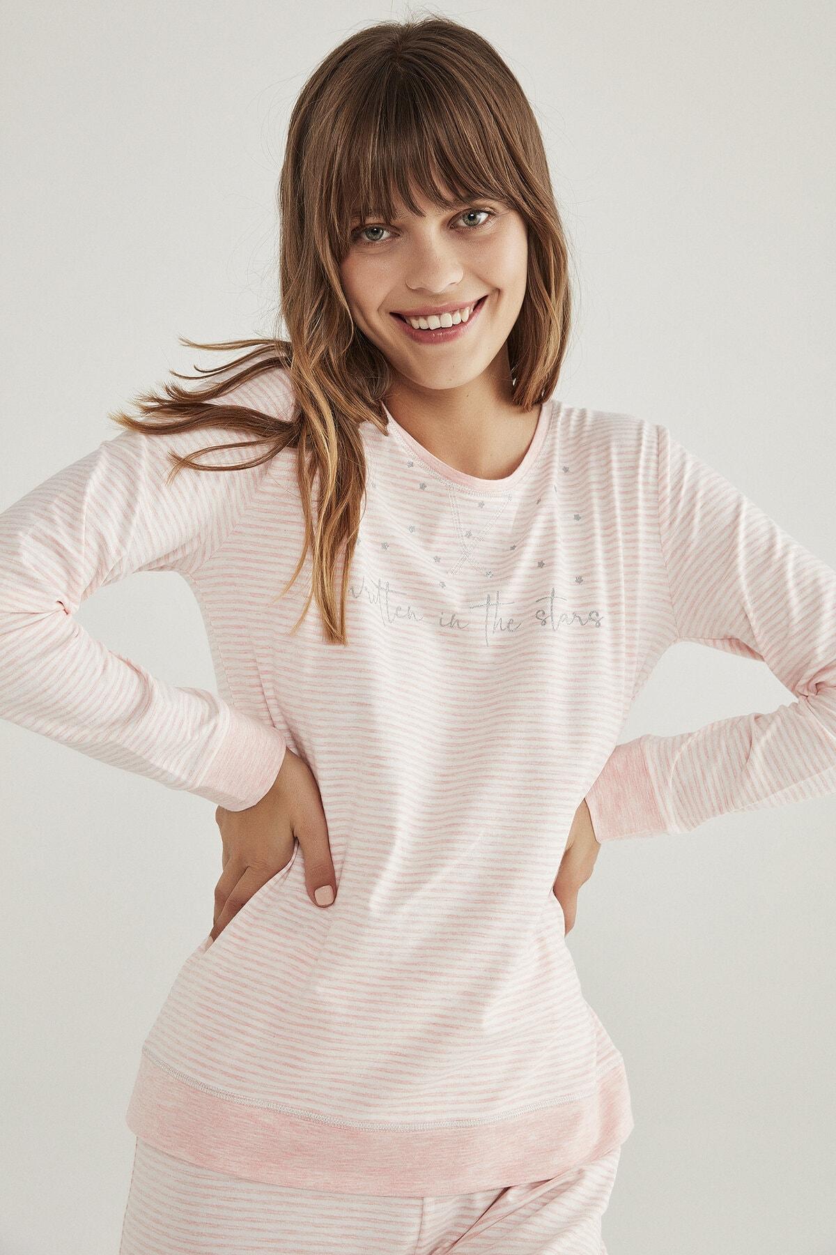 Penti Stripy Pijama Takımı 2