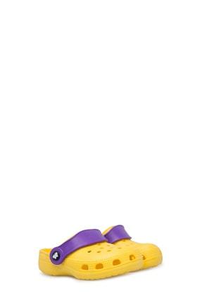 Akınalbella Unisex Çocuk Sarı Sandalet E012000b 1
