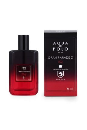 Aqua Di Polo Aynı Butikte 2. Ürün 1 TL Gran Paradiso Red Edp 50 ml Erkek Parfümü 8682367012760 0