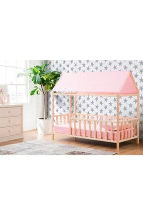 Baby Kinder Roofed Montessori Bebek & Çocuk Karyolası 1