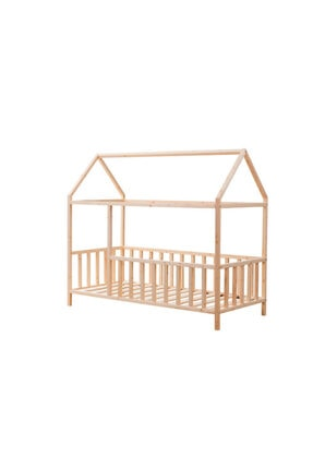 Baby Kinder Roofed Montessori Bebek & Çocuk Karyolası 2