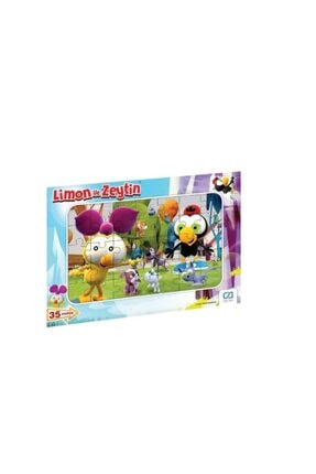CA Games Limon Ile Zeytin 35 Parça Frame Puzzle S1 0