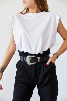 XHAN Vatkalı Basic Tişört 0YXK2-43401-01 1