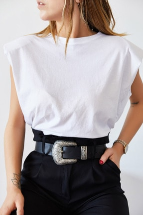 XHAN Vatkalı Basic Tişört 0YXK2-43401-01 4