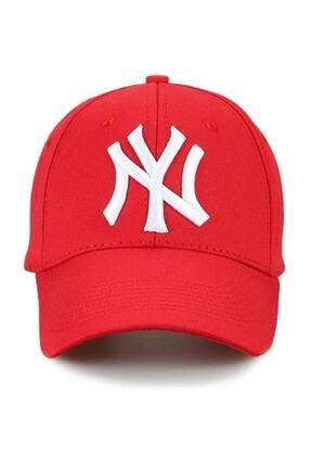 RD EKOAVM Kırmızı Unisex  Ny New York Yankees Şapka 0