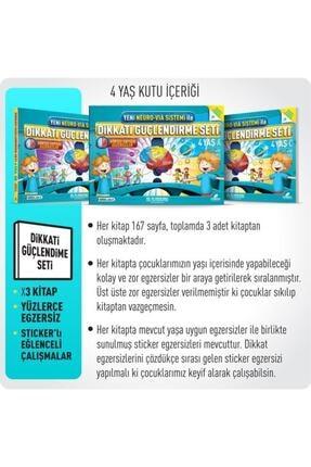 Adeda Yayıncılık Osman Abalı Neuro Via 4 Yaş Dikkati Güçlendirme Seti 2