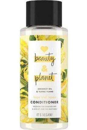 Love Beauty and Planet Hindistan Cevizi Yağı Ve Ylang Ylang Özlü Şampuan + Saç Kremi Seti 2