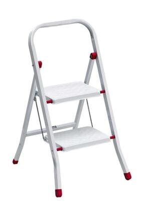 Saraylı Pratik Metal Merdiven 2 Basamaklı 0