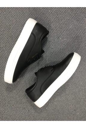 Conteyner Erkek Siyah Spor Sneaker 4