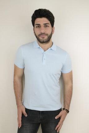 Mcr Polo Yaka Slim Fit T-shirt 36523 Düz Renk 0