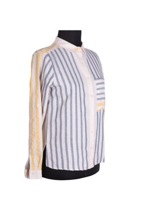 Bayan Giyim Gömlek Şık Giyim Çizgili 83389