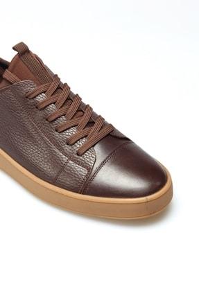Alba Kahve Crep Hakiki Deri Erkek Ayakkabı 2