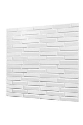 Renkli Duvarlar Nw55 Beyaz Opak Arkası Yapışkanlı Esnek Silinebilir Duvar Paneli 2