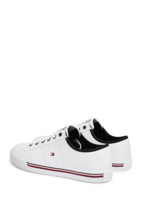 Tommy Hilfiger Erkek Beyaz Sneaker Fm0fm02676 3