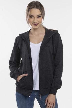Slazenger SANTO Kadın Sweatshirt K.Gri 3