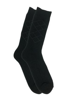 Zirve Erkek 3'lü Kışlık  Yıkamalı Pamuklu Termal Çorap 2