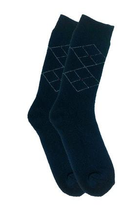Zirve Erkek 3'lü Kışlık  Yıkamalı Pamuklu Termal Çorap 3