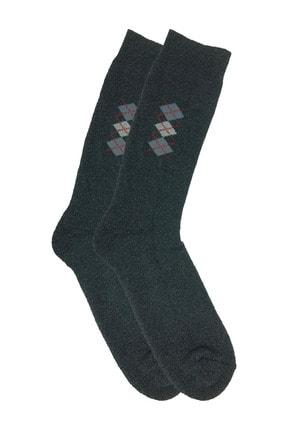 Zirve Erkek 3'lü Kışlık  Yıkamalı Pamuklu Termal Çorap 4