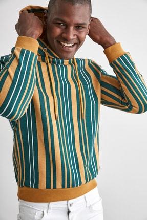 TRENDYOL MAN Hardal Erkek  Sweatshirt TMNAW21SW0996 2
