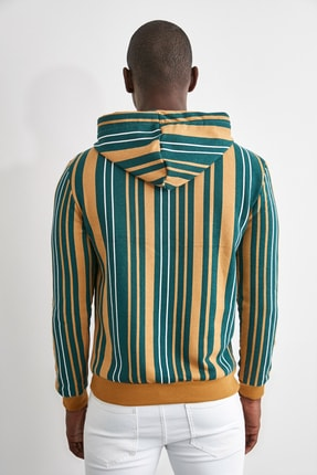 TRENDYOL MAN Hardal Erkek  Sweatshirt TMNAW21SW0996 4