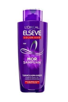 L'Oreal Paris Elseve Turunculaşma Karşıtı Mor Şampuan 200ml 0
