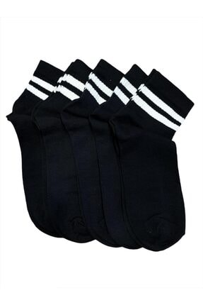 Cansoy 5'li Kadın Spor Çorap 0