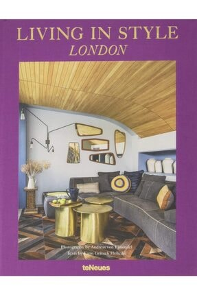 TENEUES Living In Style London Hardcover - Kitap 0