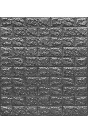 Renkli Duvarlar Nw02 Gri Tuğla Arkası Yapışkanlı Esnek Silinebilir Duvar Paneli 2