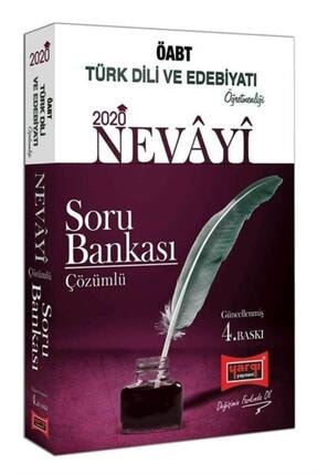 Yargı Yayınevi 2020 Öabt Nevayi Türk Dili Ve Edebiyatı Öğretmenliği Çözümlü Soru Bankası 0