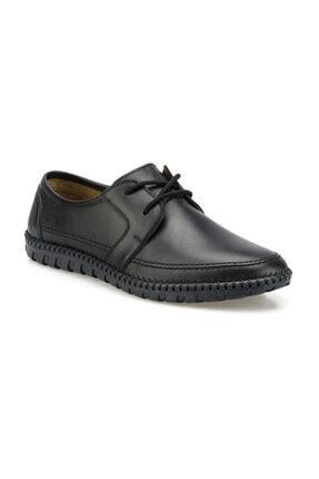 Polaris 102093.M Siyah Erkek Klasik Ayakkabı 100500739 0