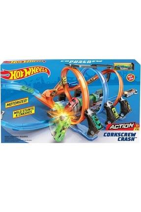 Mattel Hot Wheels Büyük Çarpışma Yarış Seti Ftb65 - Lisanslı Ürün 1