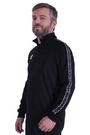 Picture of Antrenman Eşofmanı Üstü R89622 Siyah Athletica