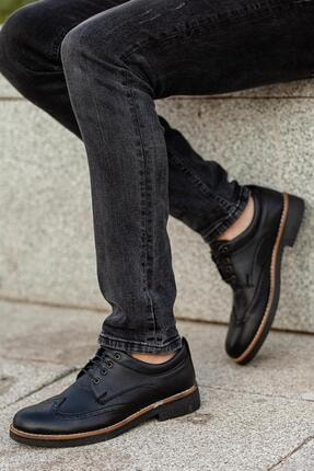 Muggo Erkek Siyah Casual Ayakkabı M260 1