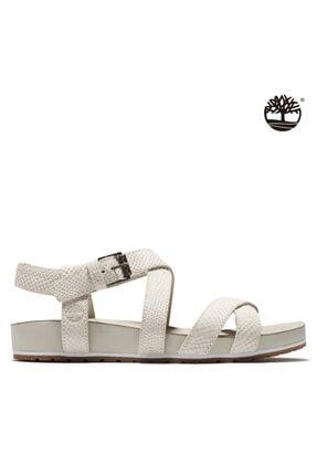 Timberland Kadın Beyaz Sandalet A2atv 1