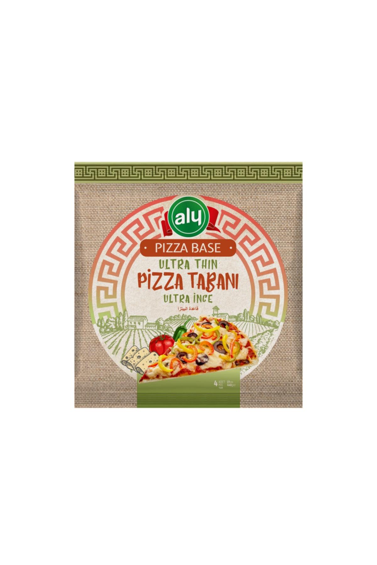 Ultra İnce Pizza Tabanı 27 cm 4'lü  440 gr