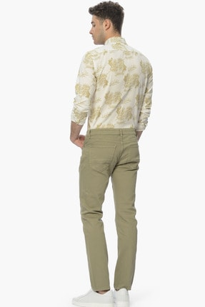 Network Erkek Açık Yeşil Casual Pantolon 1061121 1
