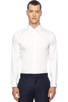 Network Erkek Beyaz Smokin Gömlek 1067462 0